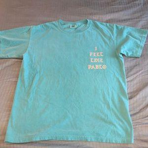 Kanye I Feel Like Pablo sz Men's L seafoam green